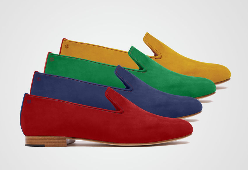 slippers tibbs deville de couleur